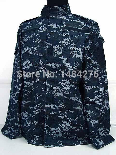 Blue Digital Camo Jerseys Set Digital Navy Blue Camo