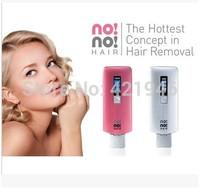 free shipping2014 hair removal body depilador fullbody epilator No facecaredepilation laser epilator depilador laser Pink Silver