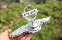 Noble Angel Eagle wing emblems for Nissan Creative 3D stereo car Logo Badge Zinc Alloy car beacon for Nissan Decorative Sticker