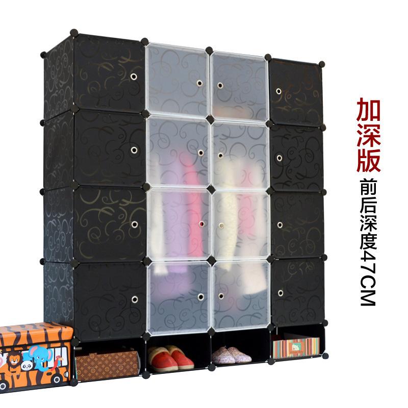 16 cubes diy armoire corner cabinets freestanding wardrobes closet storage ideas diy wardrobe closet plastic wardrobe(China (Mainland))