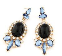 Sparkling Rhinestone Dangle Earrings New Fashion Statement Earrings Women Accessories BJE9012