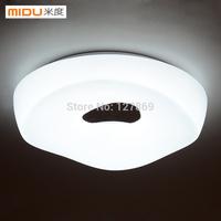 M degrees minimalist modern living room white circular fashion acrylic lighting fixtures LED Ceiling Bedroom