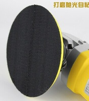 free shipping /125mm Car polishing disc/Polishing sponge stick tray/Car polishing sucker/5 inches Car polish stick tray