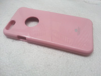 Wholesale free shipping  - Mercury GOOSPERY  color Pearl Jelly case TPU Silicon case for  iPhone 6  10 pcs per lot