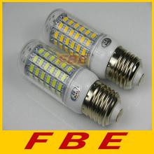 New arrival 220V/110V 69LED SMD 5730 e27 led bulb,25W 5730smd LED corn lamp Warm white /white 5730 chandelier Retail(China (Mainland))