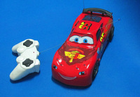 HWP 1:18  Lights Flashing Cartoon Remote Control Toys RC Cars Free shipping Child's gift