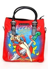 Ed women's handbag canvas A beautiful woman bag(China (Mainland))