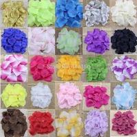 300pcs Artificial Silk Rose Petals Wedding Petal Flowers Party Events Decorations Colors Choice