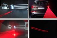 Laser warning fog light  rear fog light