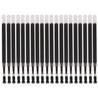 Deli S759 Black Gel Pen Core 0.5mm Bullet Style Gel Ink Pen Refill Suitable for Deli S80 S81 Gel Pen 20PCS/Box