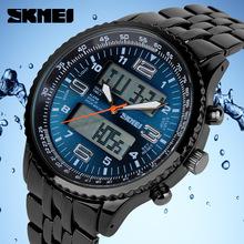 Hot skmei 1032 LED Digital Watches men luxury brand Military Quartz watch relogio masculino full Stainless
