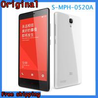 """Original Xiaomi Redmi Note 4G LTE WCDMA Mobile Phone Red Rice Note Hongmi Qualcomm Quad Core 5.5"""" 1280x720 2GB RAM 8GB ROM 13MP"""
