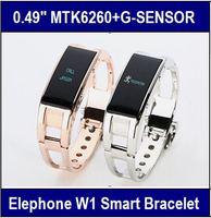 Elephone W1 OLED Smart Bracelet Wristband Bluetooth Android Cell phone Support Sleep manage Pedometer Multi Language