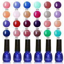 Hot-selling Cirstina 240 Fashion Colors UV Gel Nail Polish 8ML Shellac Nail Gel 1 pcs Free Shipping(China (Mainland))