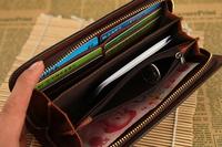 Spot wholesale new wallet, leisure, men long Gewen handbags, wallets, single zipper bag