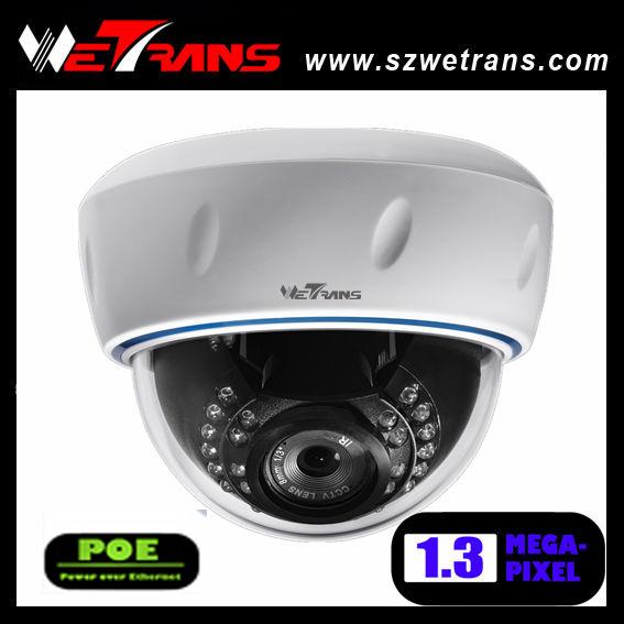 TR-SIPD225-POE Vandalproof IR dome 1.3MP Mini web IP Camera(China (Mainland))