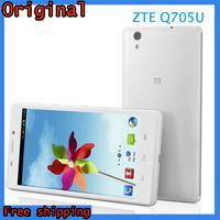 Original ZTE Q705U MTK6582 1.3GHz Quad Core Android Smartphone 1GB RAM 4GB ROM 5.7 Inch HD IPS Screen 5.0MP Camera 2500mAh