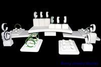 2015 New Beige Color Jewelry Display Kit NO.1714062 For Bangle Bracelet 22 PCS Holder Size: 80cm*50cm * 22CM By EMS