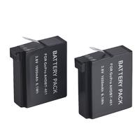 2pcs x Replacement Battery For GoPro HERO 4 HERO4 Camera  AHDBT-401  battery Pack for Gopro HERO 4 HD Camera(1160mAh)