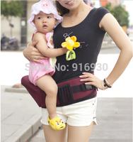 High quality Waist stool Walkers Holding waist belt baby carrier Hip seat Belt kids Infant hip Seat double-shoulder stool #004