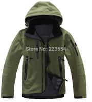 Winter men Waterproof outdoor jackets brand Men Soft shell Fleece windbreaker ski jackets climbing hiking sports jacket coat