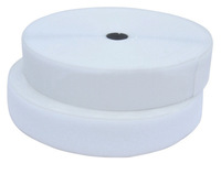"""25 Yard White Sew On Hook & Loop Velcro Tapes 1"""" Wide  For  Sewing Garment Accessories"""