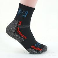 2014 Freeshipping 5pairs/lot Quick-drying wlfskin/Wolf, claw hiking socks COOLMAX socks outdoor sports men's socks