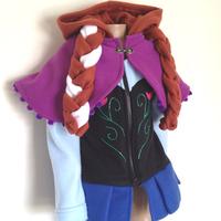 2014 New Autumn Winter frozen coat girls Frozen Hoodies Anna jacket clothing for children girls hoodies baby & kids coat