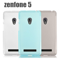 Protective Silicon Pudding TPU case for Asus Zenfone 5 zenfone5 / Screen film protector Free shipping