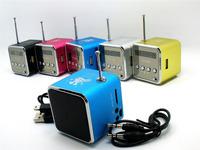 New Fashion Stereo Speaker Mini USB,TF Card MP3 Music Portable Speakers FM Radio Digital Speaker #11 SV001051