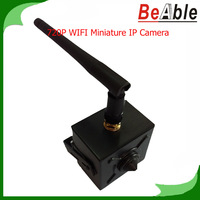 1280*720 Resolution 3.6 mm Fixed lens,IP67 Metal Case P2P Mini Camera 1.0 Megapixel White and Grey Color Pinhole IP Camera