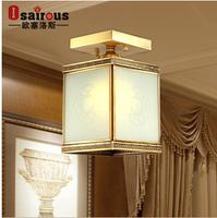 H bar restaurant lamp small pendant light fashion copper fitting lighting d new arrival j
