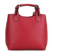Women Shoulder bag leather Hot Popular Retro Handbag messenger bag Woven Belt Handle pure simple free shipping
