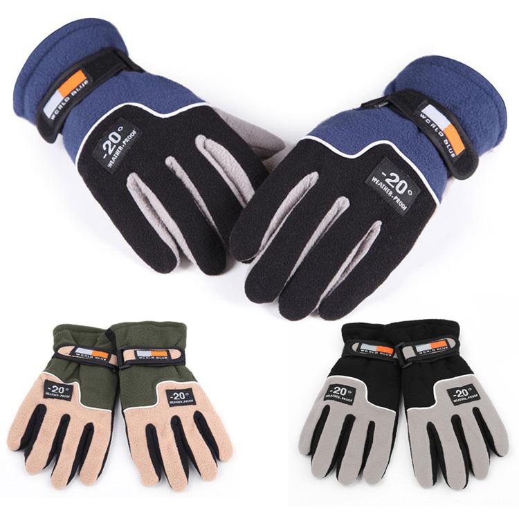 Fashion Men Warm Glove Thermal Winter Motorcycle Ski Snow Snowboard Gloves For Free Shipping(China (Mainland))