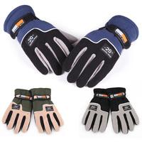 Fashion  Men Warm Glove Thermal Winter Motorcycle Ski Snow Snowboard Gloves For Free Shipping