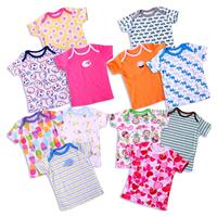 100% cotton High Quality baby  t-shirt kids clothes newborn boys&girls summer short sleeve infant accessories