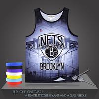 New Brand Paul Pierce Basketball Vintage Super Stars Nets Male Tank Tops Clothing Cotton Men Sports Vest