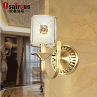 H copper wall lamp splder lamp bedroom bedside lamp fashion wall lights b j