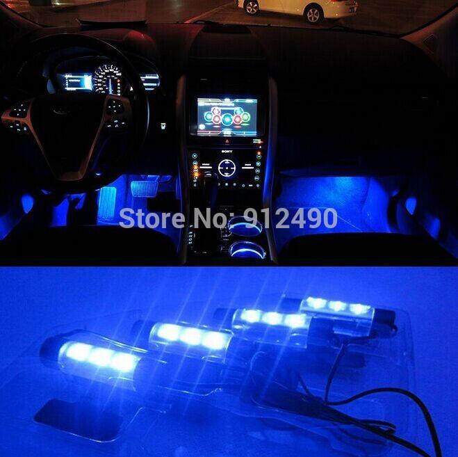 Achetez en gros int rieur bleu accessoire de lumi re for Accessoire voiture interieur