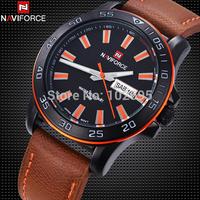 2014 NEW arrival brand NAVIFORCE watch High quality Glow men quartz watches Military Watch 30M Waterproof sports Men Wristwatch