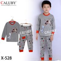 Boys Snowman Olaf  Clothing Set Kids Autumn -Summer Pajamas PeppaPig Sets New  Children Frozen 2-7Y Pyjamas