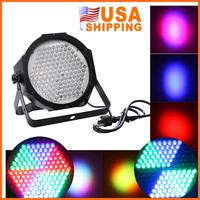 Fast Shipping USA Free Shipping DMX512 127 RGB LED Professional Stage Lighting Effects Disco DJ Party Show AC90-240V US Plug