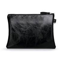 New handbag fashion big envelope bag PU female letter print fashion wrist bag