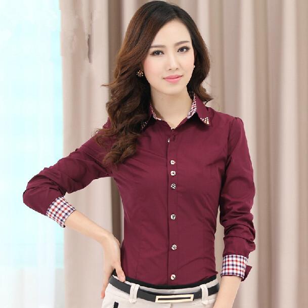 Red Plaid Shirt Womens
