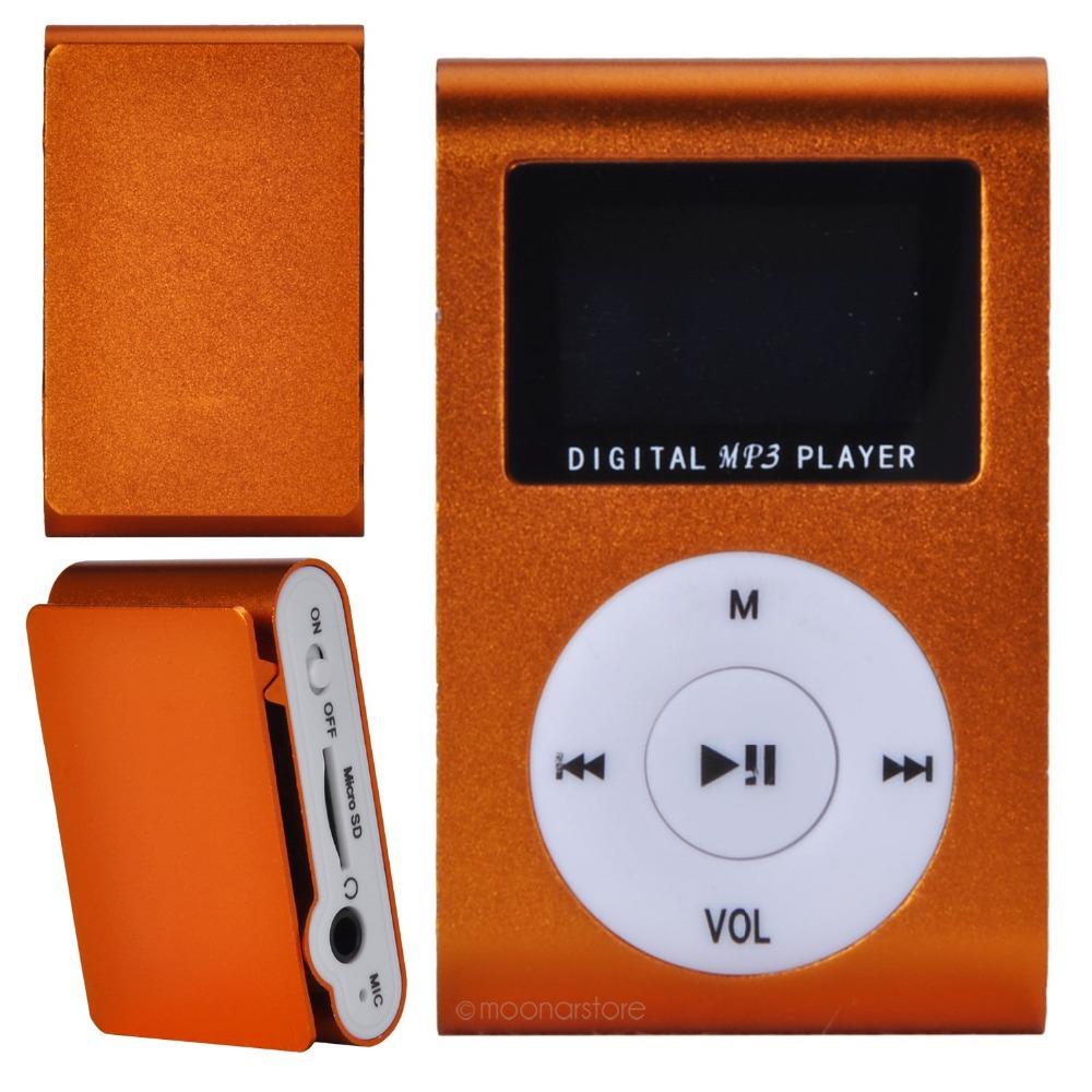 Mini USB Small Cute 6 Colors MP3 With Display Screen Need To Plug TF Memory Card MP3 Player J*DA1038#S4(China (Mainland))