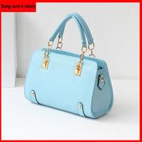 2014 new arrival promotion candy color Girls' bag women shoulder bag ladies messenger bag