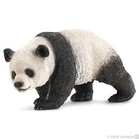 Free Shipping Brand New Animal Action Figure Toys The Panda PVC Education Figure Model Toy For Children/Kids/Gift