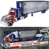 Transformation MechTech Deluxe Class-Optimus Prime Trailer Autobots Container Carriage Action Figures Toys Car In Original Box