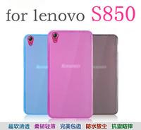 Lenovo S850 phone protective silicon pudding TPU case / Also Luxury rabbit fur case in store