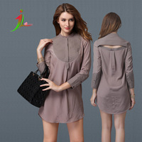 Top quality Europe and the United States Spring and autumn lady short dress slim one quarter sleeve female dress WT0005